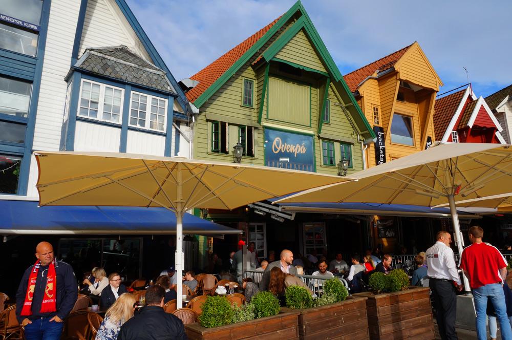 Stavanger-auf-eigene-Faust-Holzhäuser