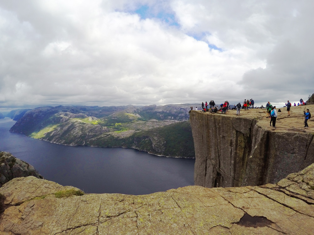 Preikestolen Stavanger Norwegen wandern mit Kindern