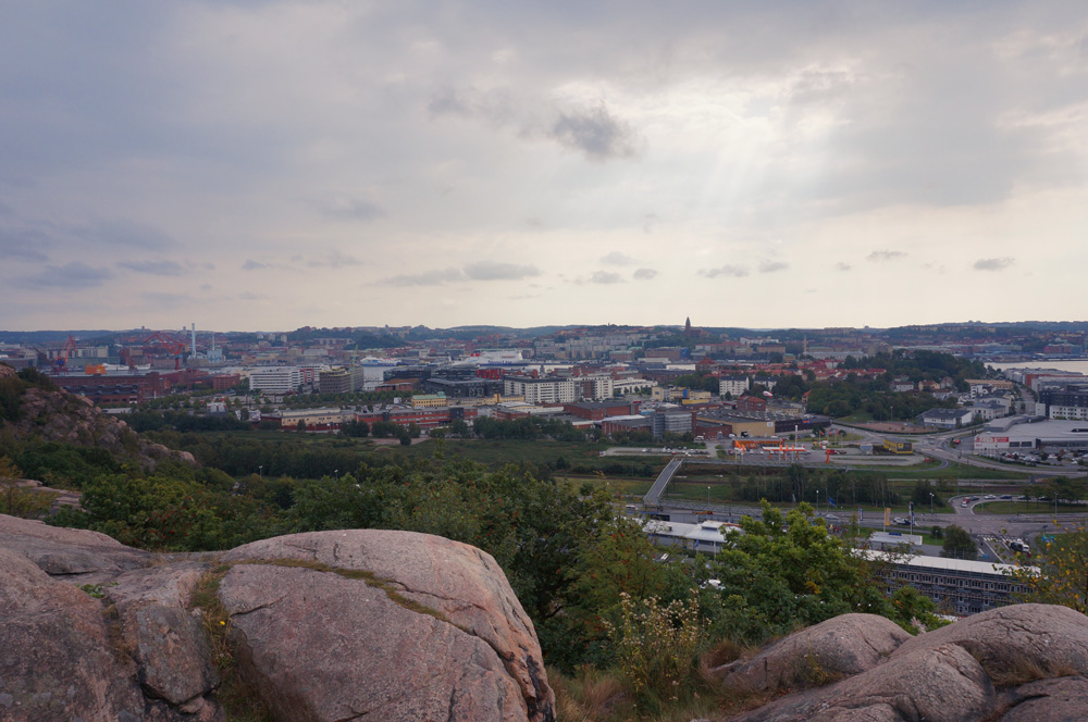 Göteborg Tipps Urlaub in Schweden, Göteborg von oben, wandern in Göteborg