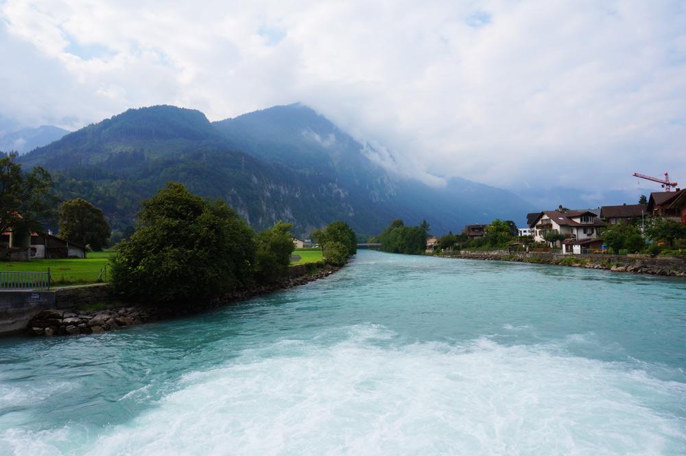 Paragliding Interlaken Gleitschirmfliegen Schweiz