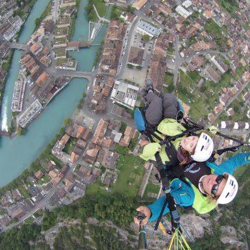 Paragliding Interlaken – Keine Panik über den Wolken