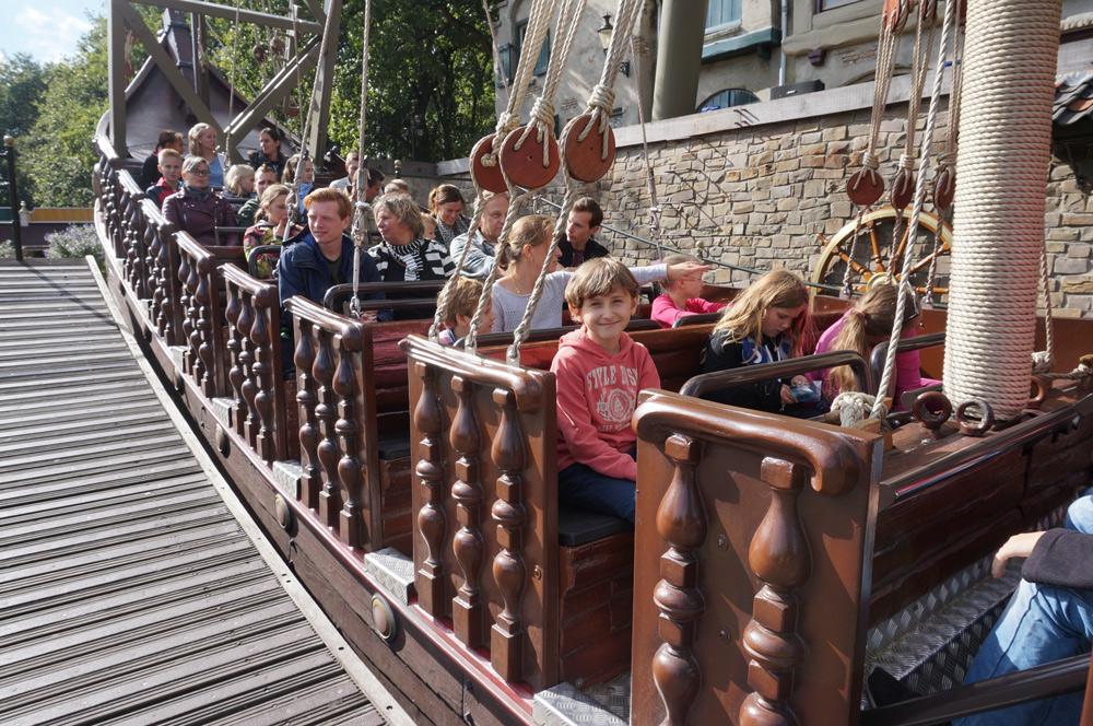 Efteling Freizeitpark, Efteling mit Übernachtung, Schiffsschaukel Efteling