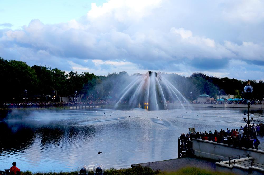 Efteling Freizeitpark, Efteling mit Übernachtung, Wassershow Efteling