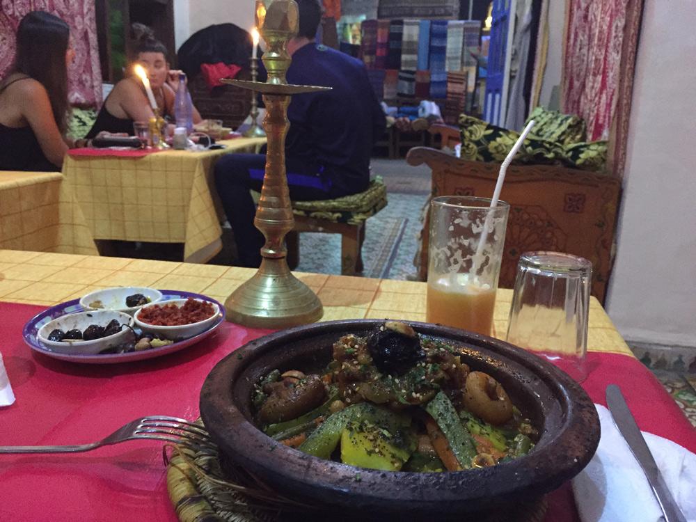 Sehenswürdigkeiten Essaouira mit Kind reisen. Essen in Marokko
