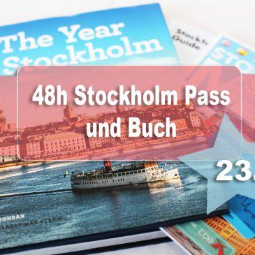 Beendet – Adventstürchen 23 – 48h Stockholm Pass, Mini Reiseführer, City Map und Bilderband