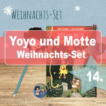 Beendet – Adventstürchen 14 – Yoyo und Motte Spuk im Dschungel Weihnacht-Set