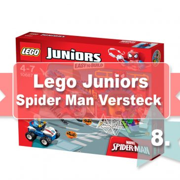 Beendet – Adventstürchen 8 – LEGO Juniors Spider-Man™ – Online Adventskalender