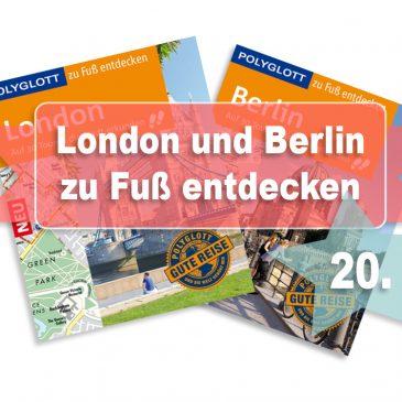 Beendet – Adventstürchen 20 – Zwei Mal POLYGLOTT zu Fuß – London und Berlin