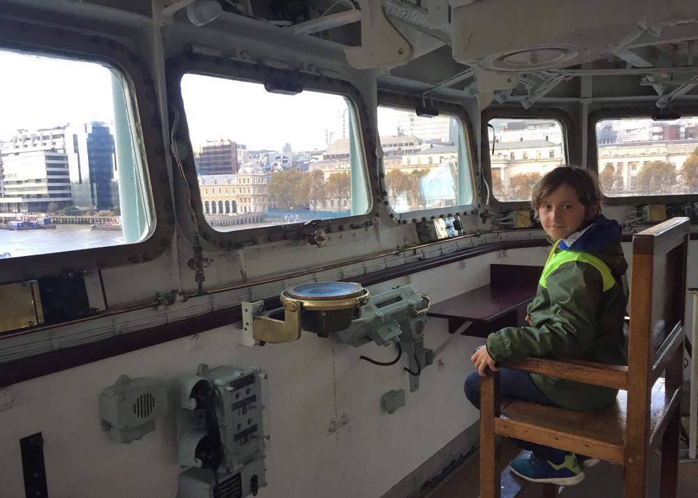 Kurztrip Wochenende London mit Kindern Tipps Sehenswürdigkeiten, HMS Belfast