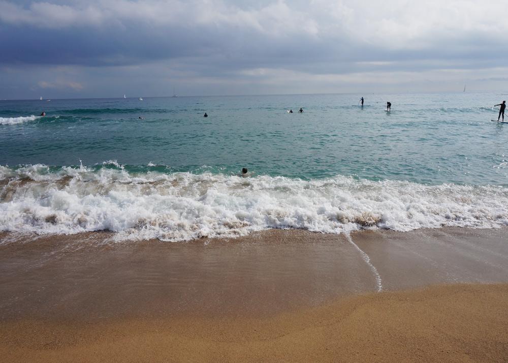 Strand Wochenende in Barcelona mit Kindern