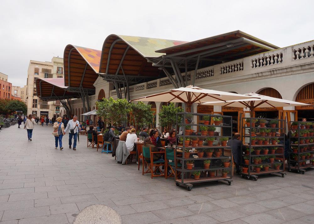 Markthalle Santa Catarina Barcelona mit Kindern