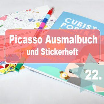 Beendet – Adventstürchen 22 – Picasso Kreativ-Set für Kids aus Barcelona