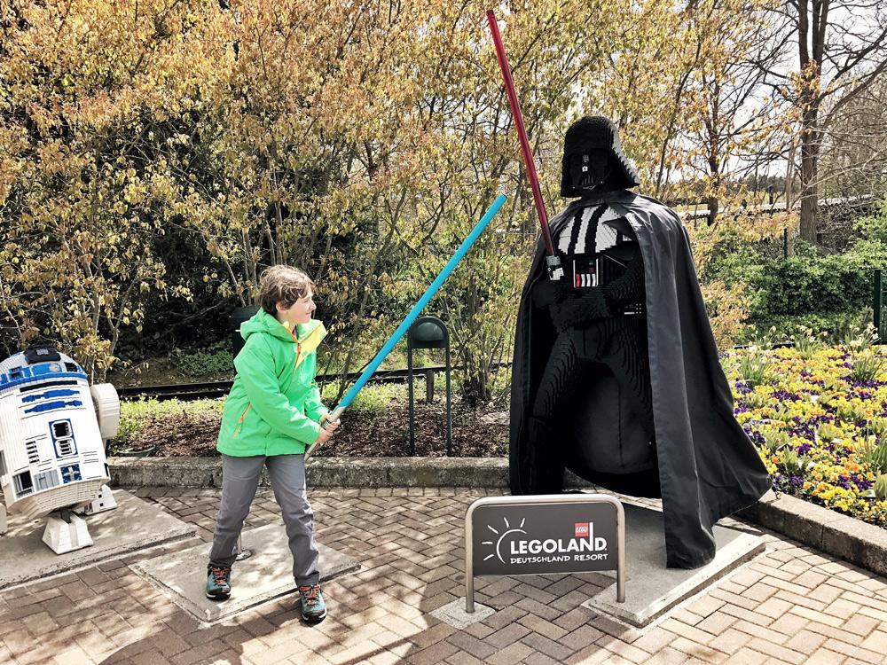 legoland Deutschland in Grünzburg Spartipps Besuch Tipps mit Kindern im Frühling Nebensaison