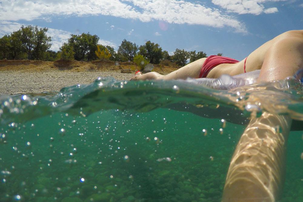 halb über- halb unterwasserbieder GoPro Dome für Hero 3 Hero 4 Hero 5, Unterwasserbilder halb Wasser halb Luft machen wie