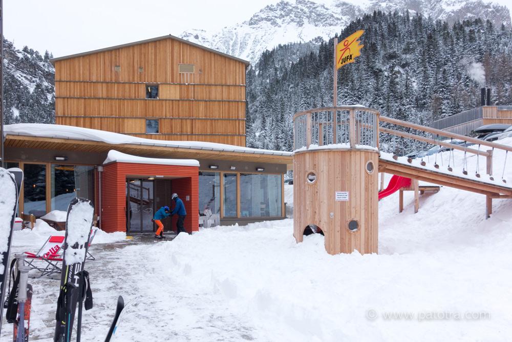 Hotel JUFA Malbun Lichtenstein schneesicheres Hotel