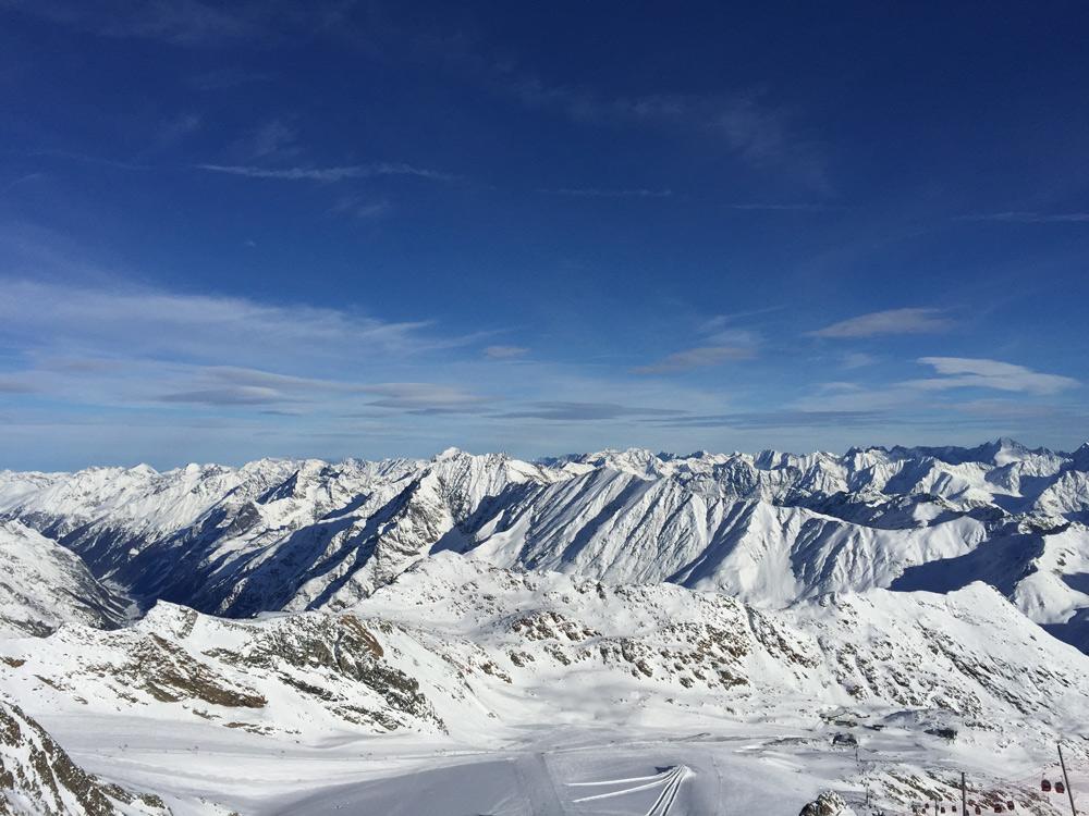 Schneesicheres Skigebiet, familienfreundliches Hotel