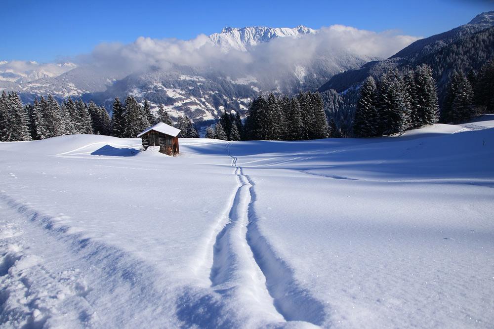 schneesicheres Skigebiet Vorarlberg Österreich Skifahren