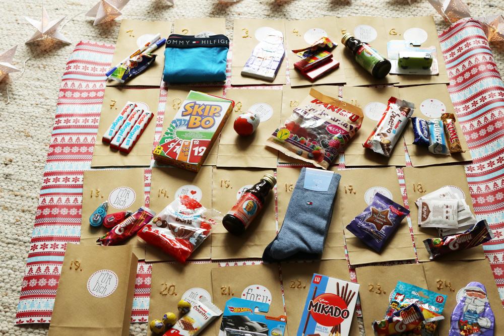 Weihnachtskalender Für Kinder Basteln.Mamablog Diy Adventskalender Schnell Und Einfach Selber Machen
