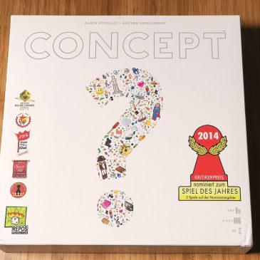 Ein Spieleabend mit Concept von Asmodee + Gewinnspiel