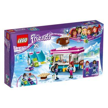 BEENDET: Adventstürchen 10 – Lego Friends Kakaowagen am Wintersportort gewinnen