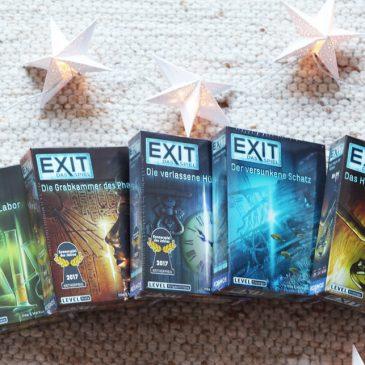 BEENDET: Adventstürchen 9 – zwei EXIT-Spielpakete von Kosmos gewinnen
