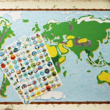 BEENDET: Adventstürchen 4 – Eine von zwei Weltkarten von Awesome Maps gewinnen