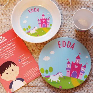 BEENDET: Adventstürchen 15 – Personalisiertes Kindergeschirr Set von Littleli