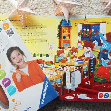 BEENDET: Adventstürchen 6 – Ravensburger – Tip Toi Weihnachtsbuch und Stift