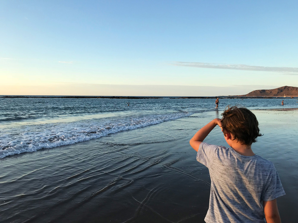 Strand Las Palmas Urlaub in Las Palmas mit Kind - Aktivitäten Las Palmas - Gran Canaria Sehenswürdigkeiten - Las Palmas Sandstrand - Essen, Restaurants, Übernachten, Tipps Las Palmas Reise auf eigene Faust.