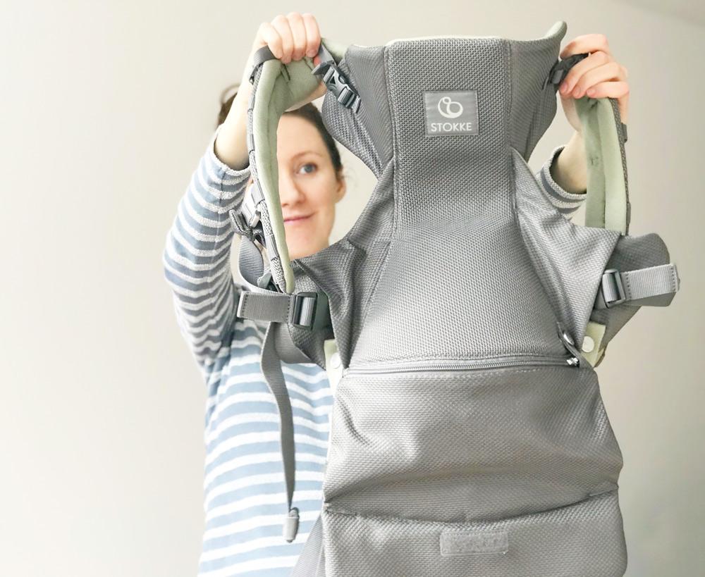 Stokke Carrier Babytrage - Baby Erstausstattung Nestbautrieb in der Schwangerschaft. Alles, was ein Baby braucht. Unsere Baby-Einkäufe.