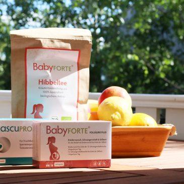 Gut versorgt in der Schwangerschaft und Stillzeit dank BabyFORTE