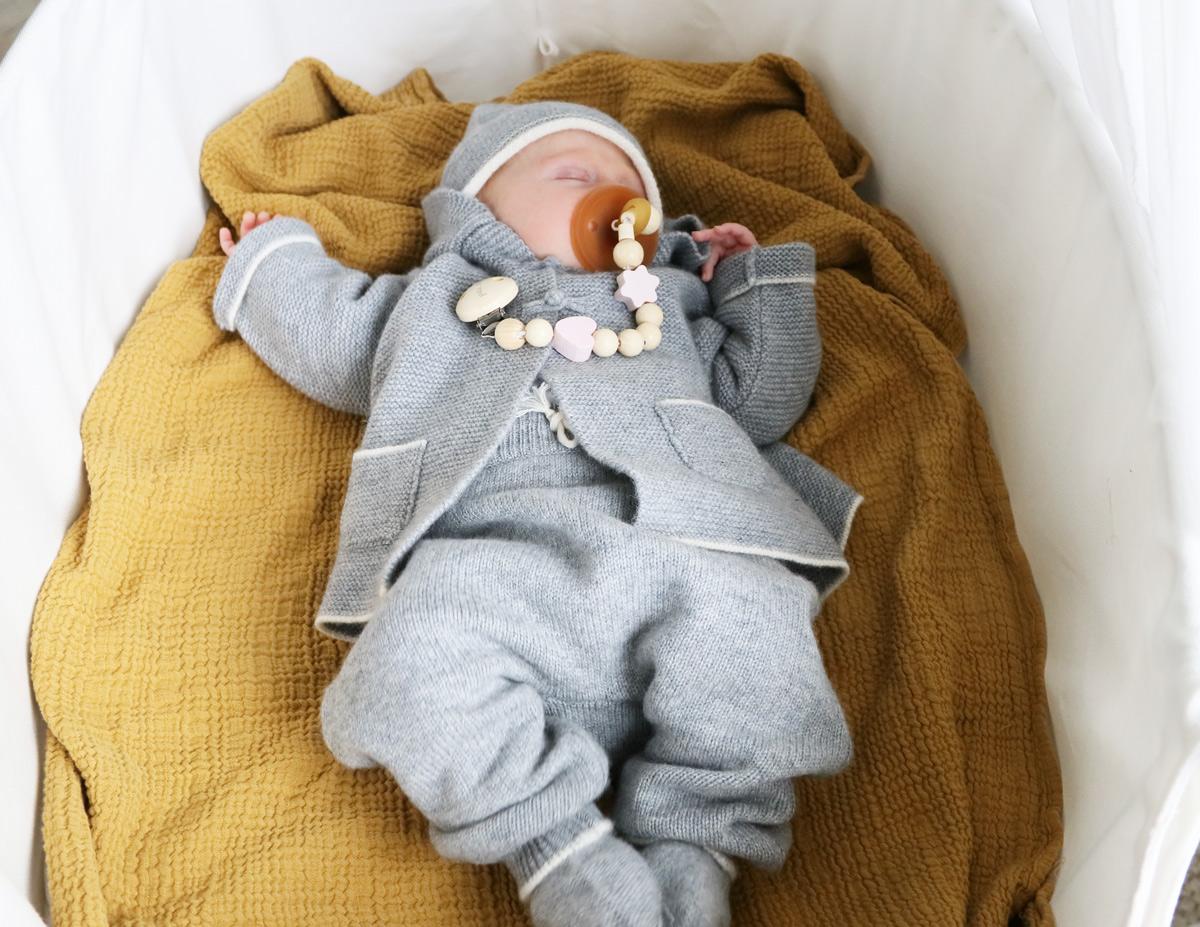 Nachhaltige Babymode Verena von Eschenbach Kaschmir für Babys