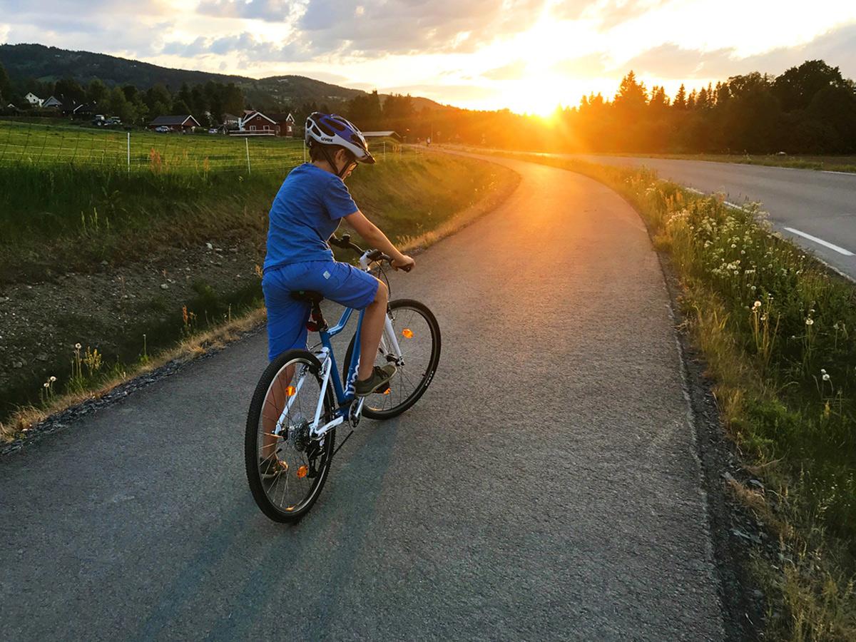 Herbst in Norwegen, Auswandern nach Norwegen mit Kind