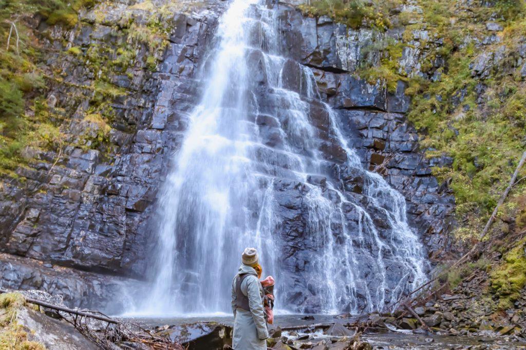 Herbst in Norwegen, Auswandern nach Norwegen mit Kind.
