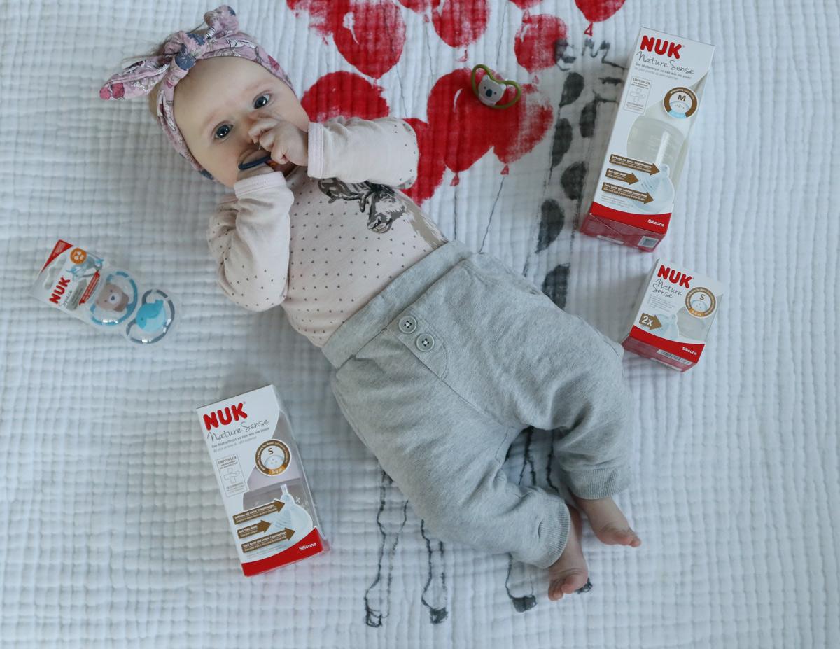 NUK Nature Sense Stillbaby an die Flasche gewöhnen - Flaschenbaby an die Brust gewöhnen - NUK Babyfone und NUK Milchpumpe Erfahrung