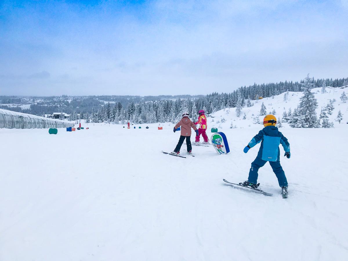 Skiurlaub in Norwegen mit Kindern in Hafjell und Kvitfjell, Tipps, Kosten, Übernachten und Essen in Hafjell und Kvitfjell. Skifahren in Norwegen