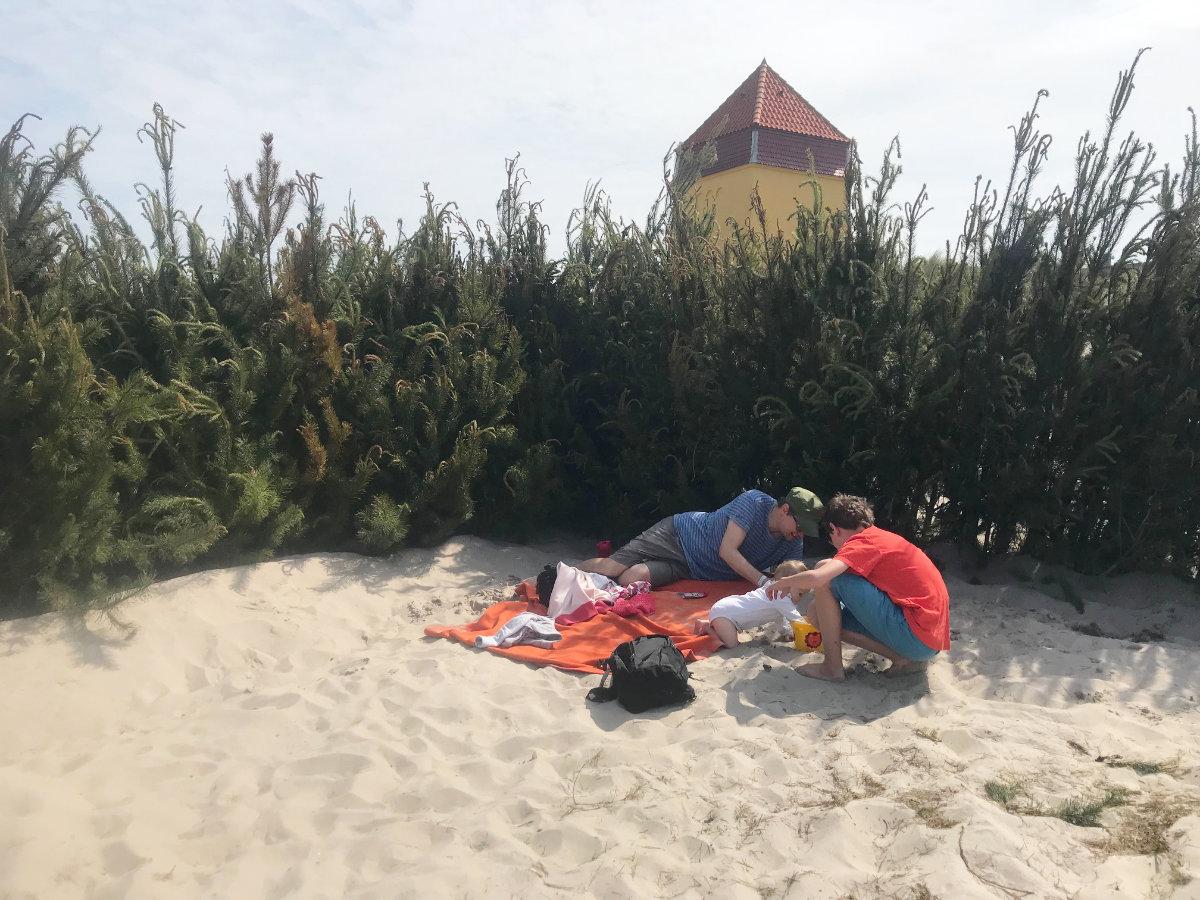 Dänemark mit Kindern, Aktivitäten in Thyborøn, Thyborøn mit Kindern, Badestrand