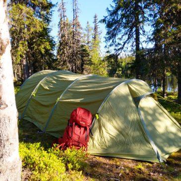 Zelten mit der ganzen Familie – unser Trekkingzelt Alaska 4 PU von Tatonka