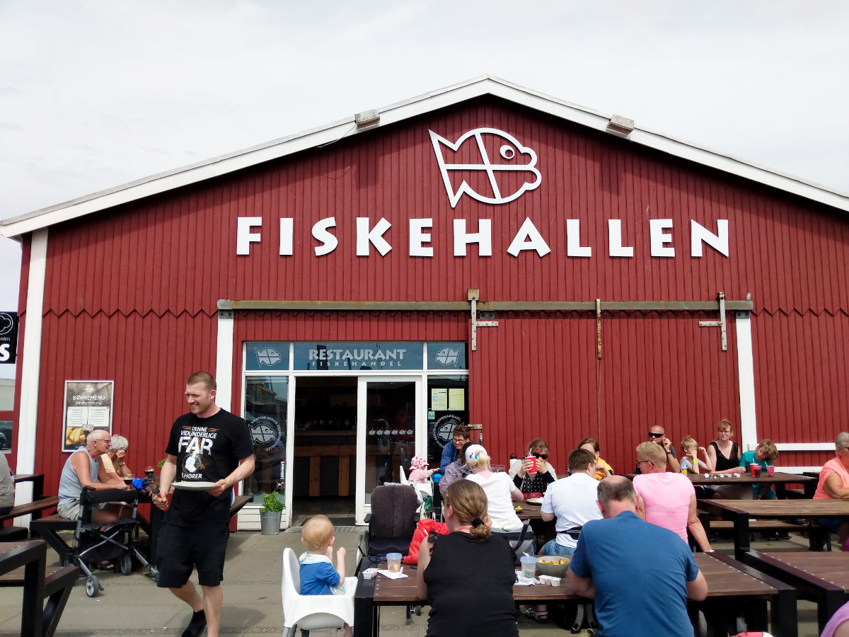 Dänemark mit Kindern, Aktivitäten in Thyborøn, Thyborøn mit Kindern, Essen in Thyborøn