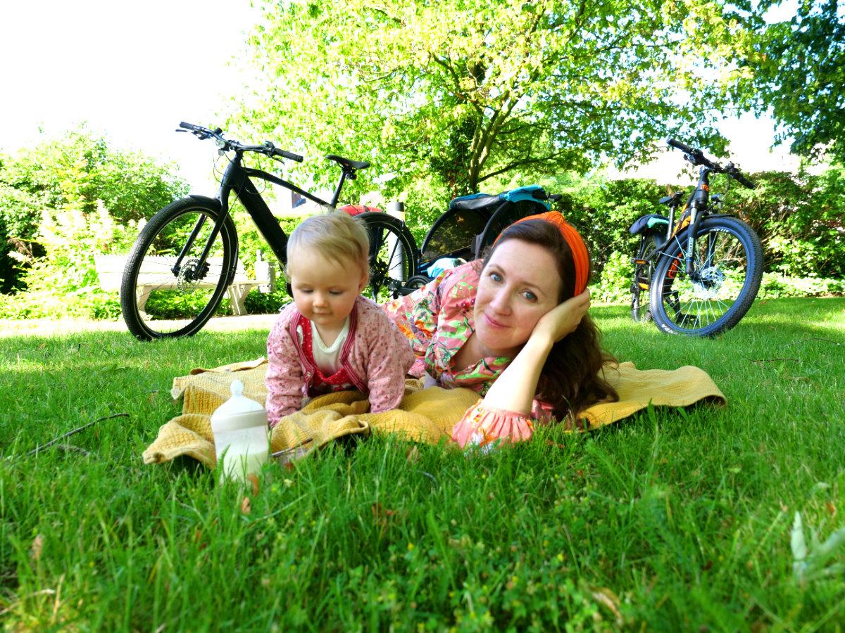 Tipps Fahrradtour mit Baby und Kindern.