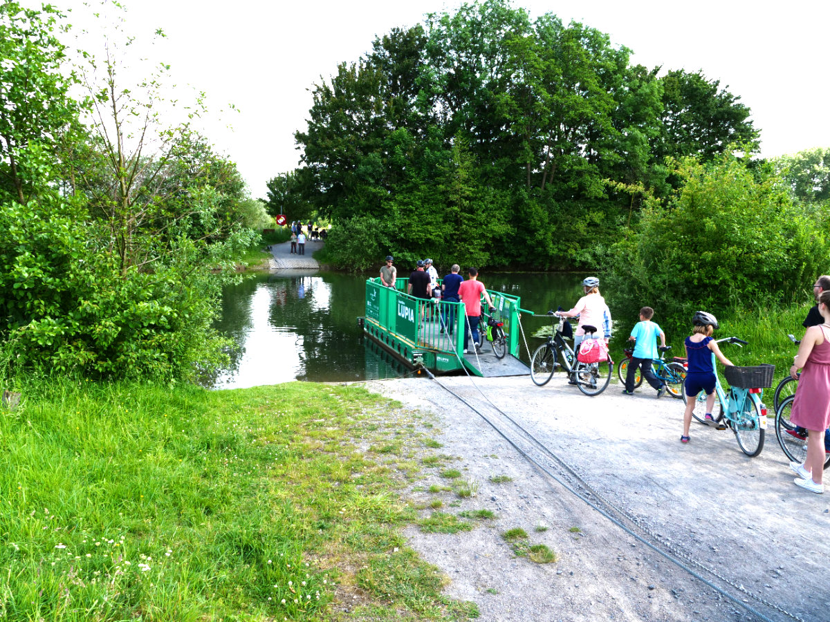 Römer-Lippe-Route barrierefreier Fahrradweg in NRW. Tipps Fahrradtour mit Baby und Kindern.