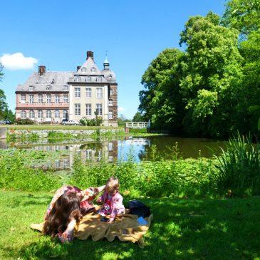 Römer Lippe Route Radtour mit Kindern von Paderborn nach Hamm