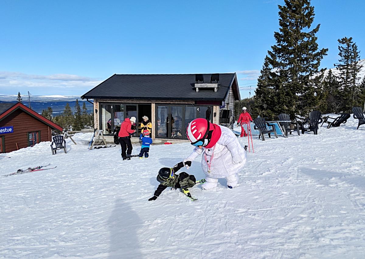 Skifahren mit Schneegarantie
