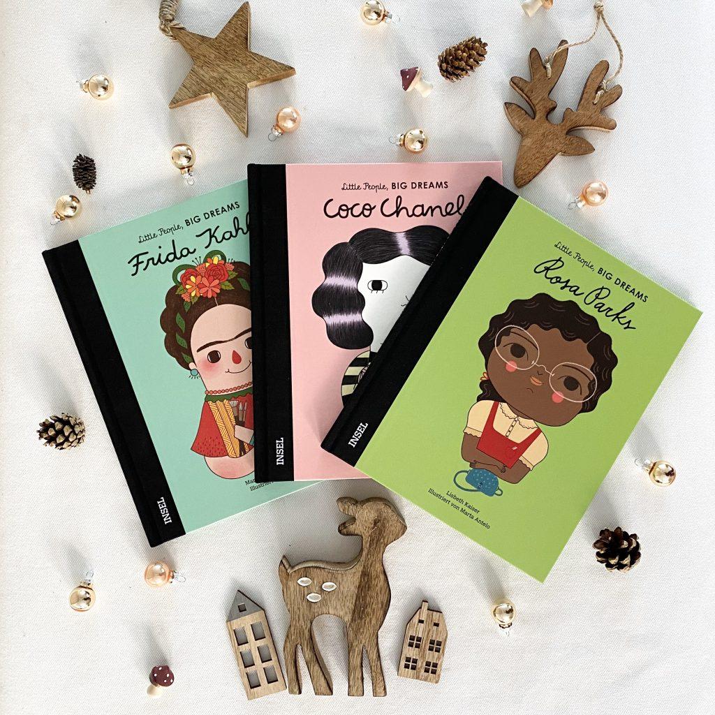Little People, BIG DREAMS - Außergewöhnliche Bücher für kleine Entdecker
