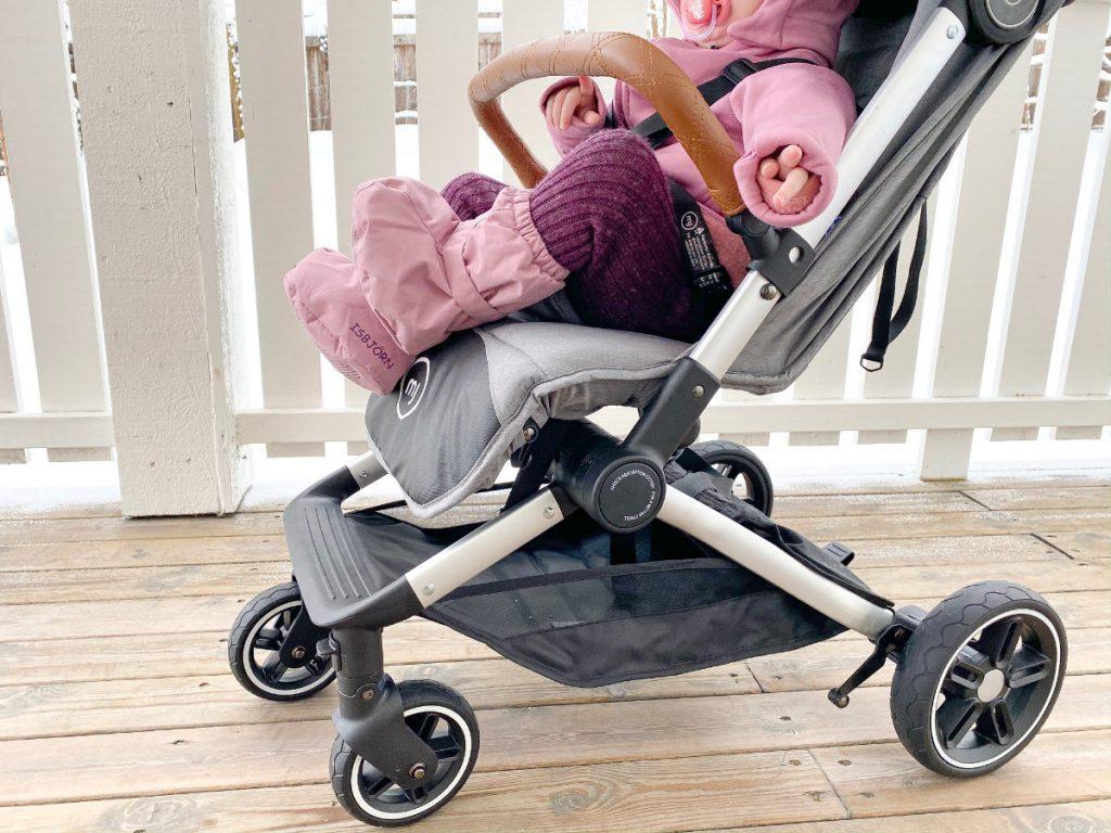 Reisebuggy - Reise Kinderwagen im Handtaschen Format - My Junior, kleiner Reisebuggy mit Liegefunktion