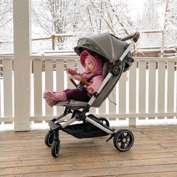 Reise Kinderwagen im Handtaschen Format – My Junior, kleiner Reisebuggy mit Liegefunktion