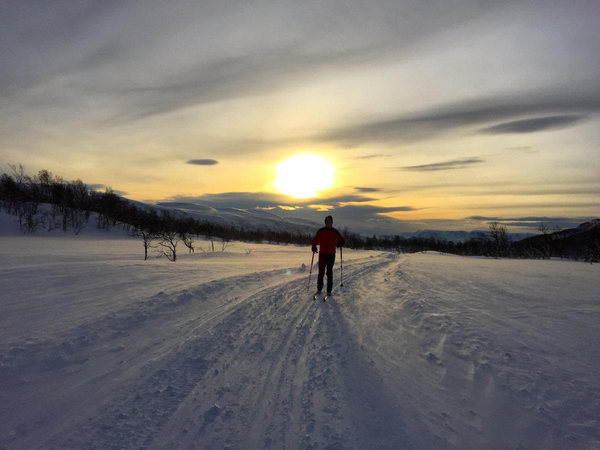 Weihnachten in Norwegen, Langlauf