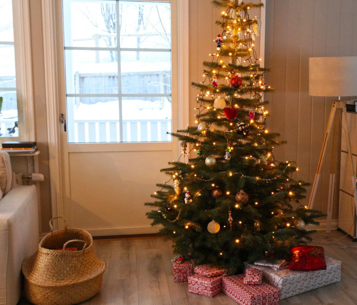 Weihnachten in Norwegen, Weihnachtsbaum