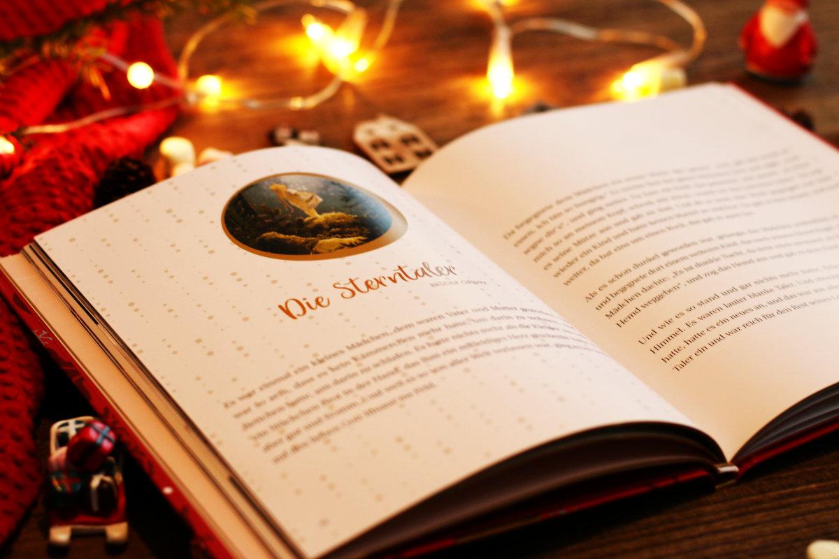 Adventskalender zum Vorlesen und unsere schönsten Weihnachtsbücher für Kinder. Plätzchenduft und Hüttenzauber