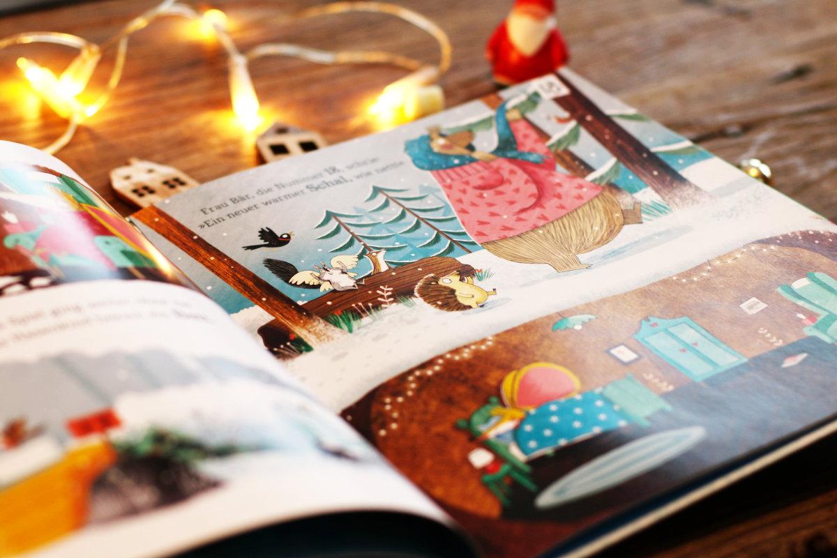 Adventskalender zum Vorlesen und unsere schönsten Weihnachtsbücher für Kinder. Der Weihnachtscountdown